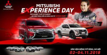 Mitsubishi eXperience day 2018
