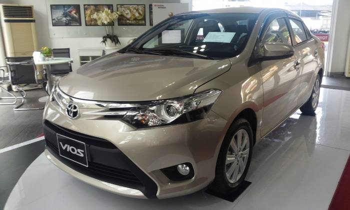 Đầu xe Toyota Vios 2016
