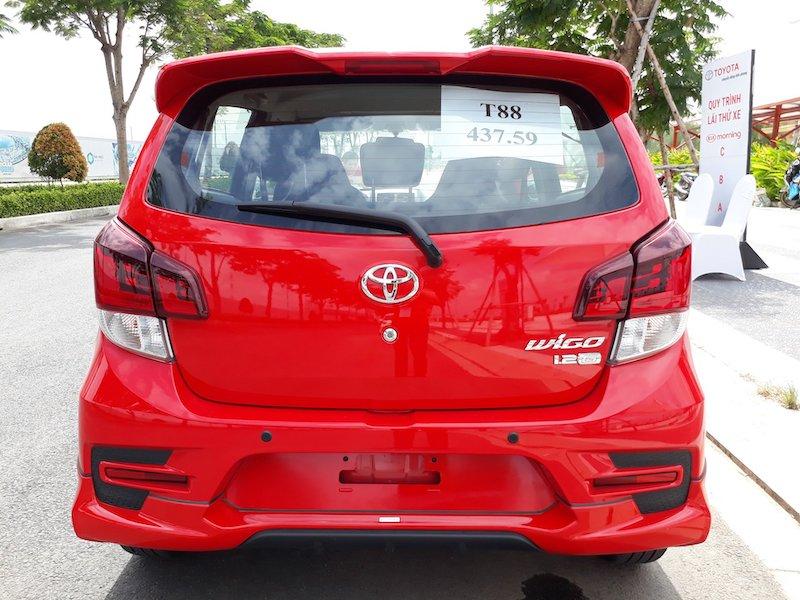 Đuôi xe của Toyota Wigo 2018