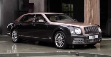xe Bentley Mulsanne Extended Wheelbase 2018