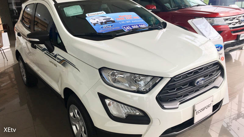 Ford Ecosport 1.5L MT Ambiente 2019