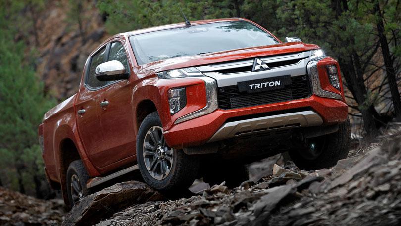 Mitsubishi Triton Facelift 2019