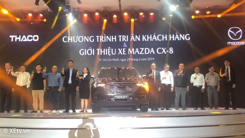 Mazda CX-8 2018 khách hàng nhận xe