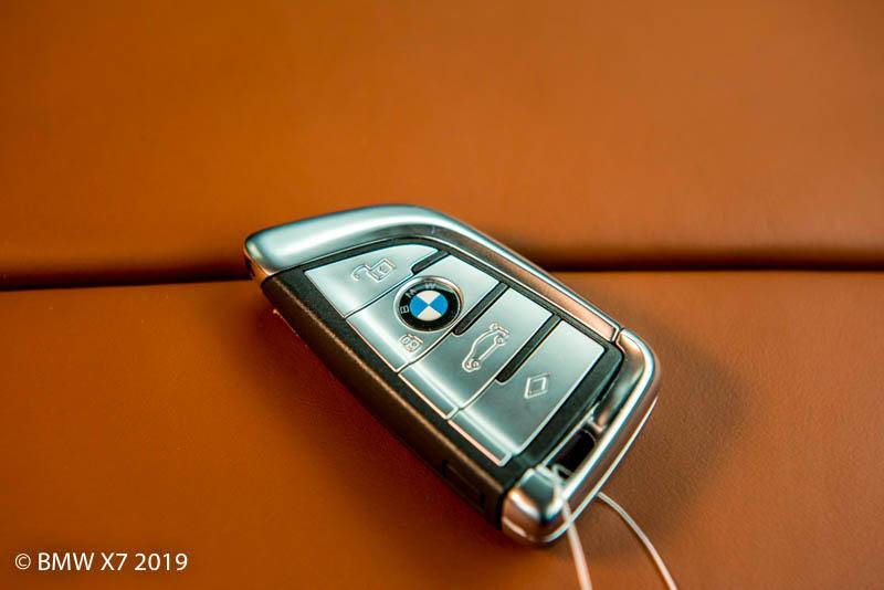 Chìa khóa BMW X7 2019