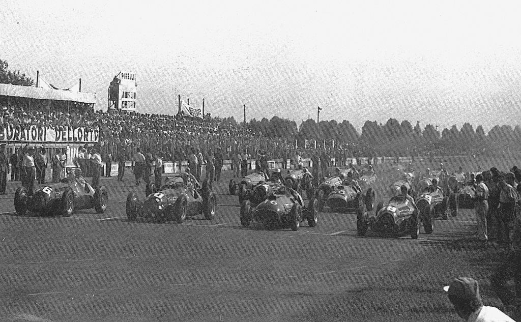 Italian Grand Prix 1950 - Ảnh: f1.wikia.com