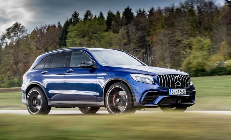 Mercedes GLC 63 S 2018 (Review)