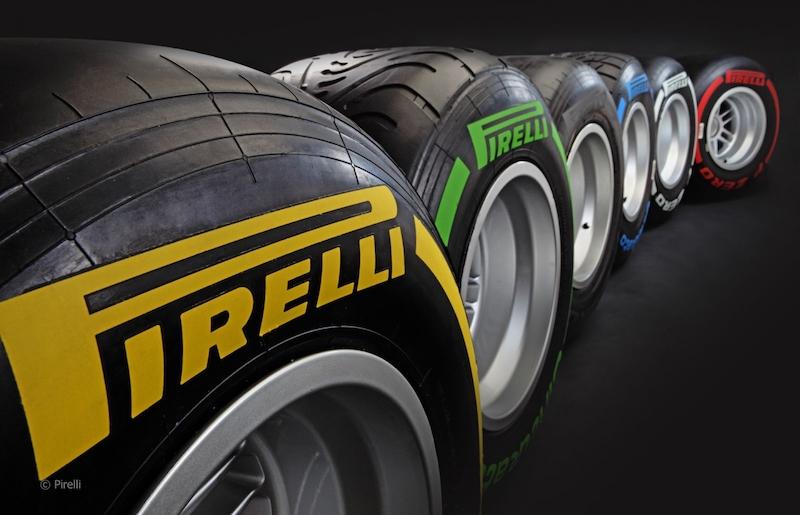 Lốp xe F1 có rãnh