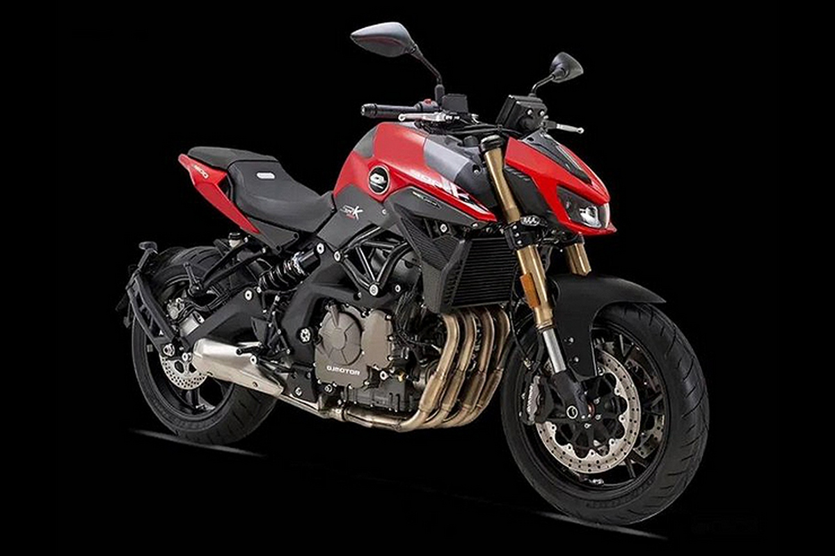 2021 QJ Motor SRK600 / Benelli Naked 600 Four promo video
